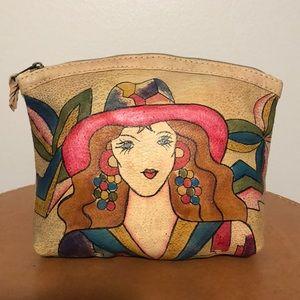 Vintage Emily Ann Hand-painted Bag